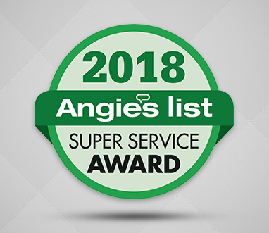 Angie's List Super Service Award 2018 for Sir Grout Nashville